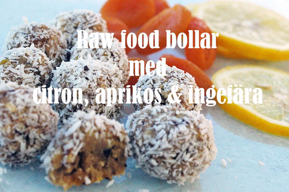 raw food bollar kalorier