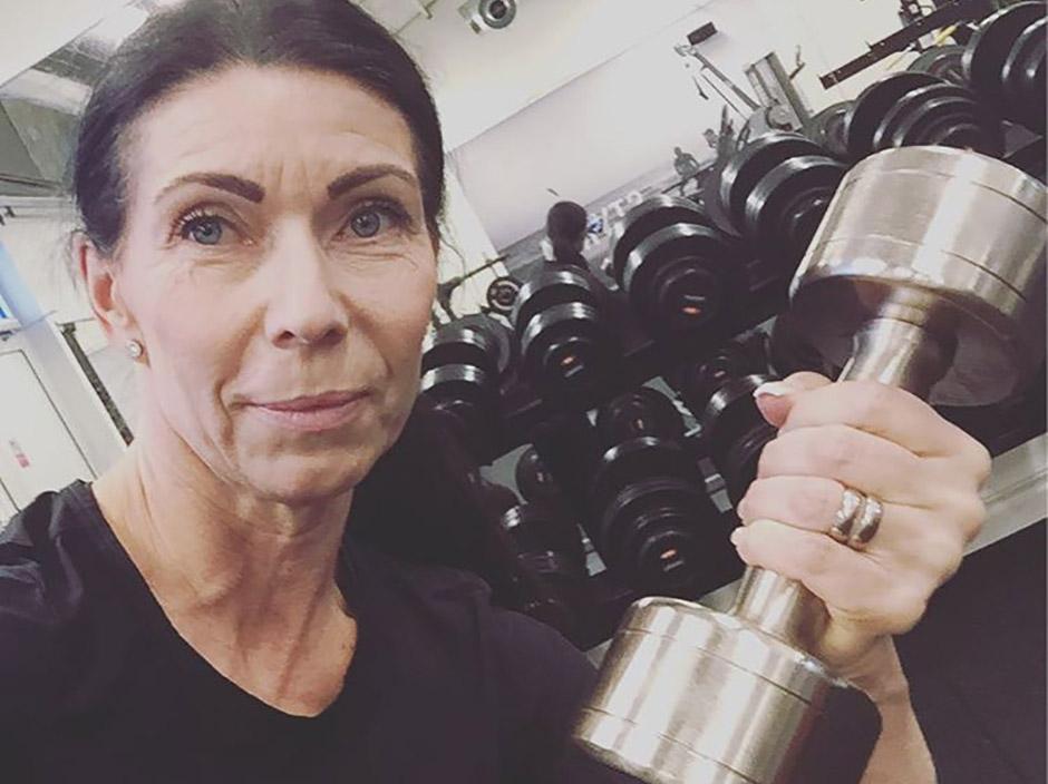 vikt på träningsredskap